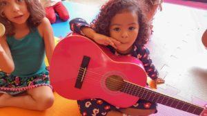 Aula de Violão Infantil